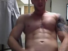 Hard cock and hard abs