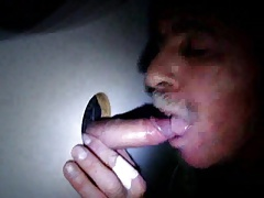 Daddy at the glory hole
