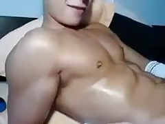 Asian young stud JO (no cum - 1'00'')
