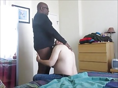 My Balls-Deep Sucking For A Dirty-Mouthed Black Dad.