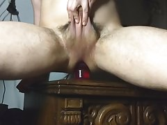 Huge toy and prolapse