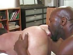 BBC impales white bodybuilde