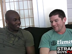 Black dude and his friend are proving they like some pussy