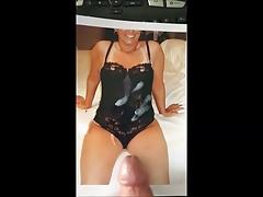 My Cum Tribute to Michelle (#1)