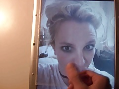 Britney Spears Cum Tribute 64