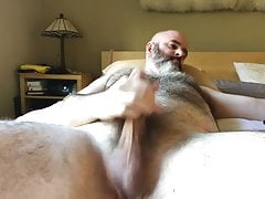 hairy chest daddy's virgin ass hole...absence of the wife
