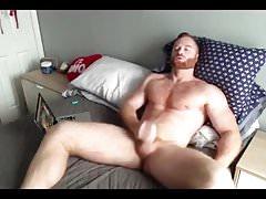 Ginger Hunk Seth Forena Bed Jerk Off & Cum