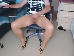 Cum in my tights
