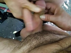 cumshots in the park