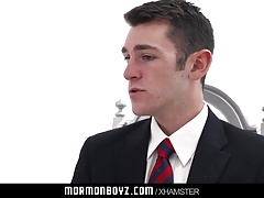MormonBoyz - Hairy hung twink missionary violated by old