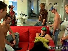 Older boys spanked bare gay A Gang Spank For Ethan