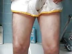 Shorts duschen