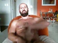 A webcam jerk off
