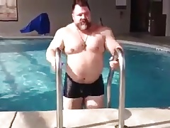 Get out the pool