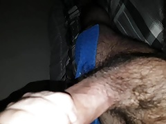 Hairy arab guy cumming