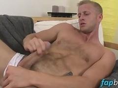 Denis pleasures himself