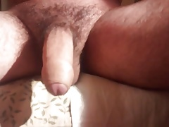 Playing With My Balls And My Dick
