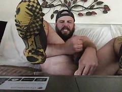 bear use a dildo