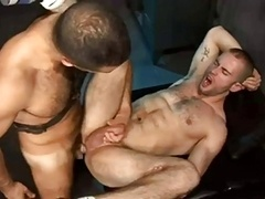 french muscled boys bang in a sex club