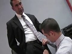 My boss fuck's my virgin booty in the Office