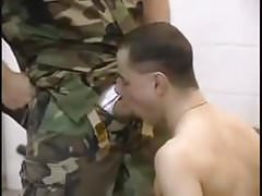 Sgt Anthony Gallo Fucks Twink Private ( Vintage 90's Porn )