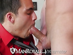 ManRoyale Exhausted from work Alexander Volkov fucked