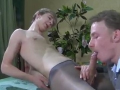 Hot Twink Goes Crazy Over Older Guy