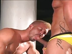 Super Muscle dudes getting down and dirty
