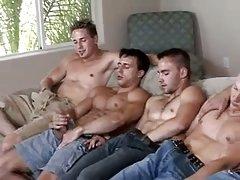 Hot Gay Guys Mutual Wanking