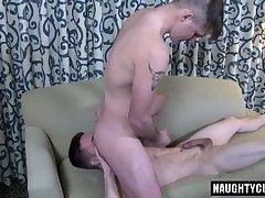 Big dick gay flip flop and cumshot