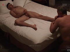 Needy Teen Takes Huge Load From Daddy