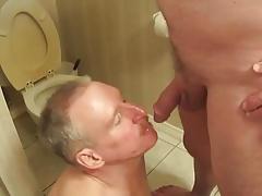 Hot dad drink piss