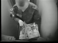 Guys In Uniform Wanking In WC With A Hidden Cam