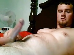 Sexy dude with huge cock