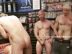 Public shop used by pervets to fuck