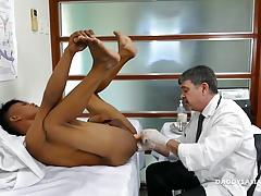 Doctor Daddy Mike Fucks Asian Boy