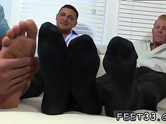 Ricky is a feet lover
