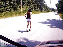 Slut on the Street