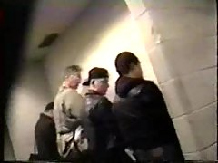 Hidden Voyeur In A Toilet