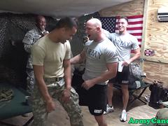 Black army sergeant assfucks bloke