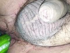 big cucumber deep in my ass