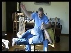 Onkel Ben 1 Nicholas gets spanked
