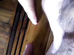 the guy in the sauna