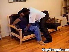 Hot Black Gay Gangsta Do Anal Fucked