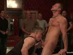 Brian Bonds gets his mouth and ass drilled by his gay buddies