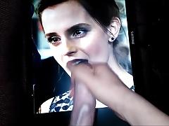Emma Watson Finally Gets a Nice Facefull of Cum