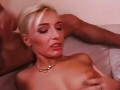 British blonde gangbang