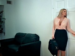 Horny MILF at the Office