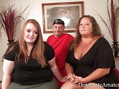 Casting Desperate Amateurs gopro bts footage bbw threesome m