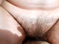 Hairy mature riding Candyce from 1fuckdatecom